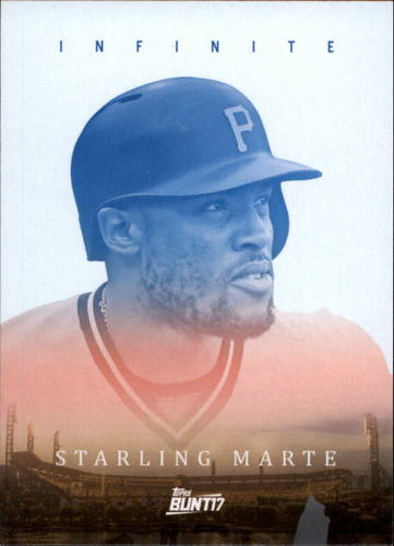 Photo of 2017 Topps Bunt Infinite #ISM Starling Marte