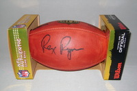 BILLS - REX RYAN SIGNED AUTHENTIC FOOTBALL