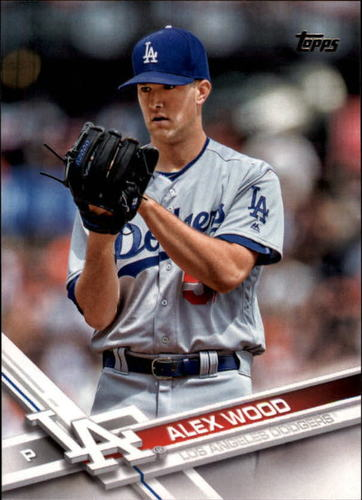 Photo of 2017 Topps #213 Alex Wood