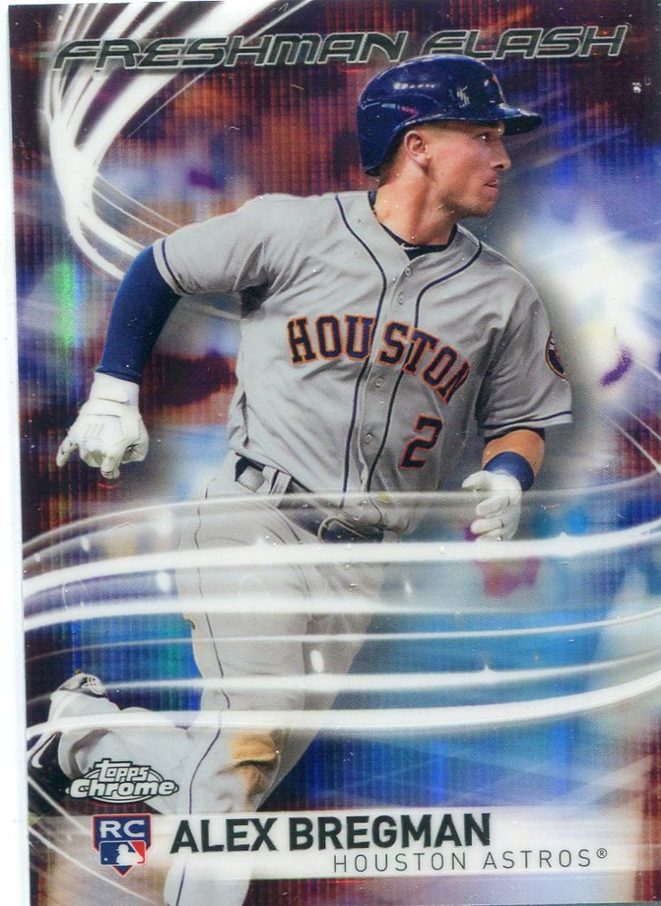 2017 Topps Chrome Freshman Flash #FF10 Alex Bregman