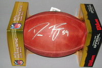 EAGLES - DEMECO RYANS SIGNED AUTHENTIC FOOTBALL