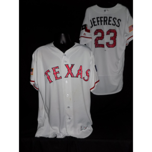Jeremy Jeffress 2017 Team-Issued Jersey
