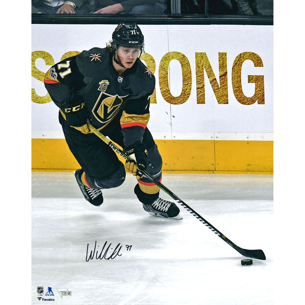 William Karlsson Vegas Golden Knights Autographed 16