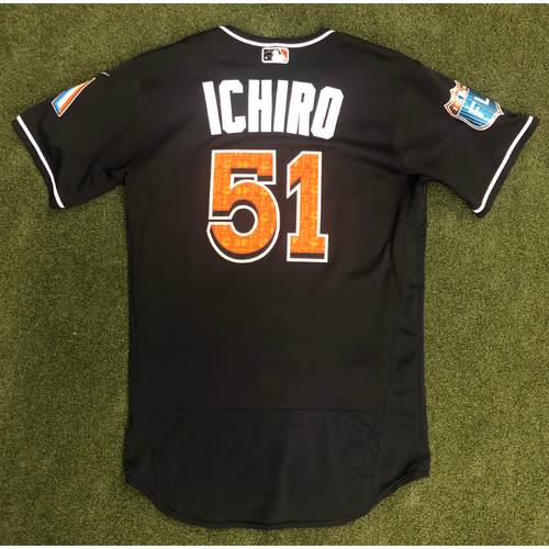 Photo of Game Used: Ichiro Suzuki 2016 Spring Training Jersey