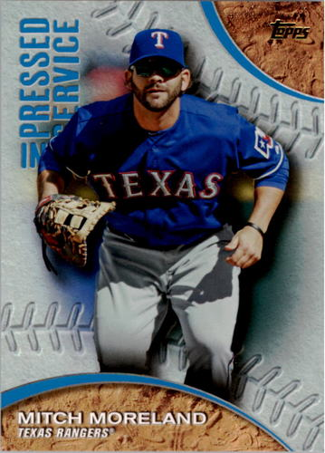 Photo of 2016 Topps Pressed Into Service #PIS1 Mitch Moreland