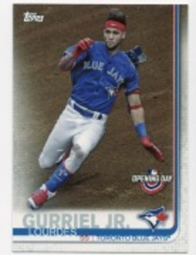 Photo of 2019 Topps Opening Day #130 Lourdes Gurriel Jr.