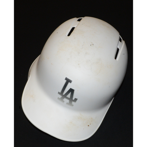 """Photo of Corey """"Seags"""" Seager Los Angeles Dodgers Game-Used 2019 Players' Weekend Helmet - Size 7 5/8"""
