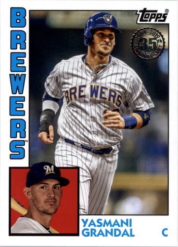 Photo of 2019 Topps Update '84 Topps #8445 Yasmani Grandal