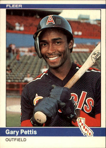 Photo of 1984 Fleer #526 Gary Pettis