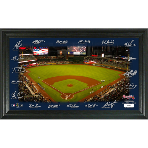 Photo of Atlanta Braves 2020 Signature Field Limited Edition Frame