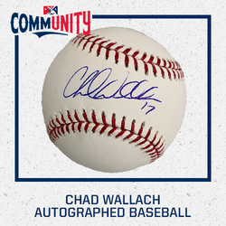 Photo of Chad Wallach Autographed Baseball