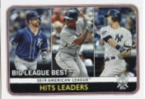 Photo of 2020 Topps Big League #241 DJ LeMahieu/Rafael Devers/Whit Merrifield LL