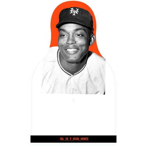 Photo of Giants Community Fund: Giants Monte Irvin Cutout