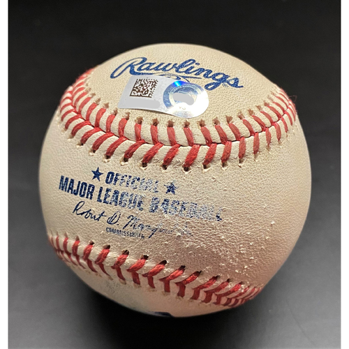 Photo of Game-Used Baseball: Willi Castro Detroit Tigers 2-Run Home Run (MLB AUTHENTICATED)