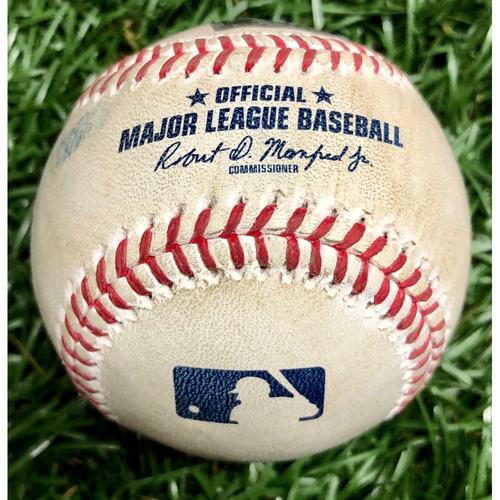 Photo of Rays Baseball Foundation: Game Used Home Run Baseball - Renato Nunez  August 25, 2020 v BAL