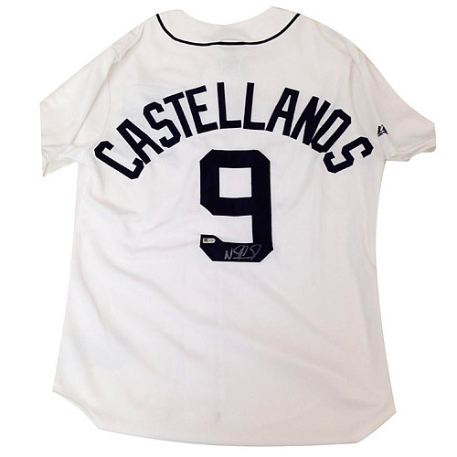 Photo of Detroit Tigers Nick Castellanos Autographed Jersey