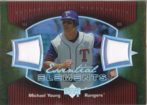 Photo of 2007 Upper Deck Elements Essential Elements #MY Michael Young