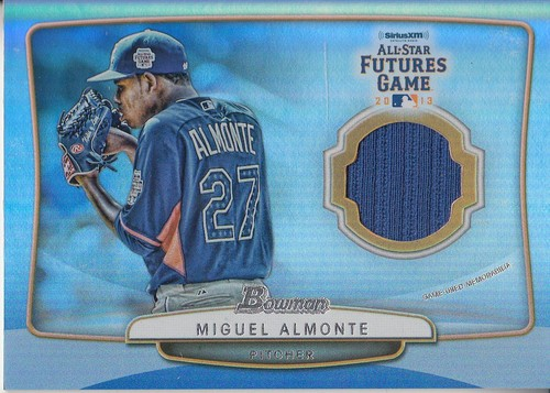 Photo of 2013 Bowman Draft Future's Game Relics #MA Miguel Almonte