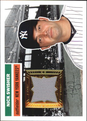 Photo of 2012 Topps Archives Relics #NS Nick Swisher