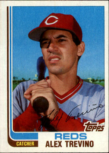 Photo of 1982 Topps Traded #120T Alex Trevino