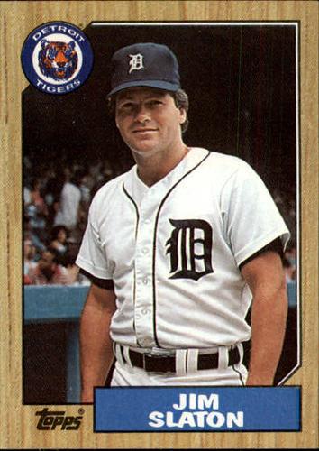 Photo of 1987 Topps #432 Jim Slaton