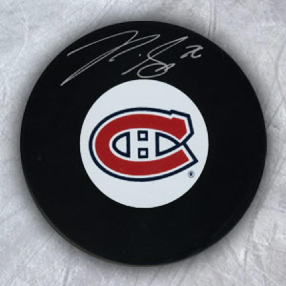 P.K. SUBBAN Montreal Canadiens Autographed Hockey Puck