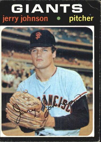 Photo of 1971 Topps #412 Jerry Johnson