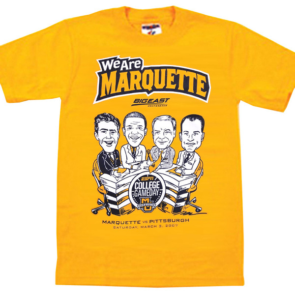 Photo of Marquette 2007 College GameDay T-Shirt (M)