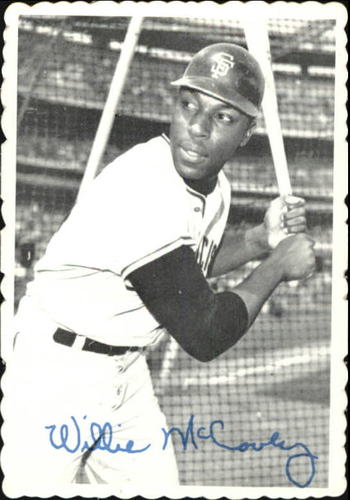 Photo of 1969 Topps Deckle Edge #31 Willie McCovey