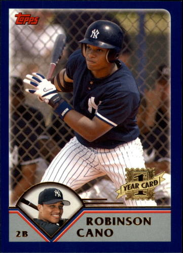 Photo of 2003 Topps Traded #T200 Robinson Cano Rookie Card