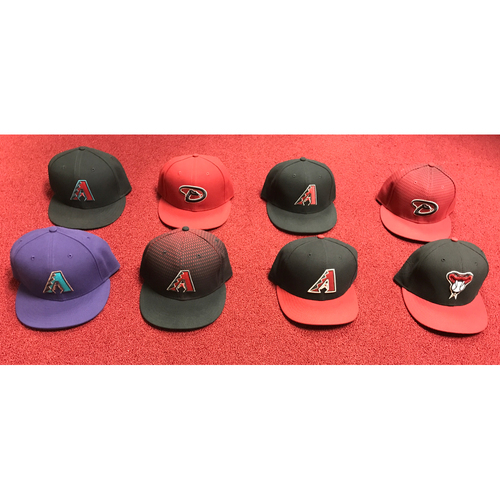Mystery Game-Used or Team-Issued Cap - Size: 7 1/2