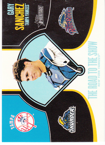 Photo of 2013 Topps Heritage Minors Road to the Show #GS Gary Sanchez