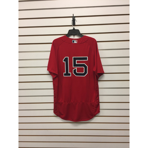 Dustin Pedroia Team-Issued 2016 Home Alternate Jersey
