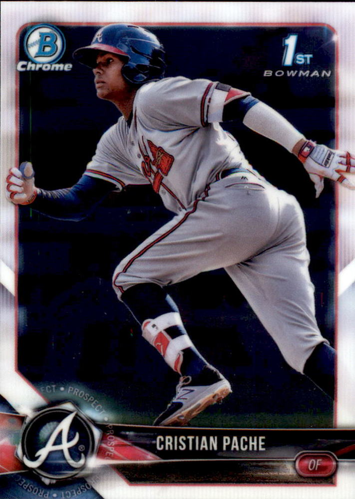 2018 Bowman Chrome Prospects #BCP46 Cristian Pache