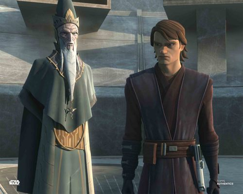 Anakin Skywalker and Mortis Father