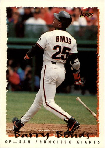 Photo of 1995 Topps #100 Barry Bonds