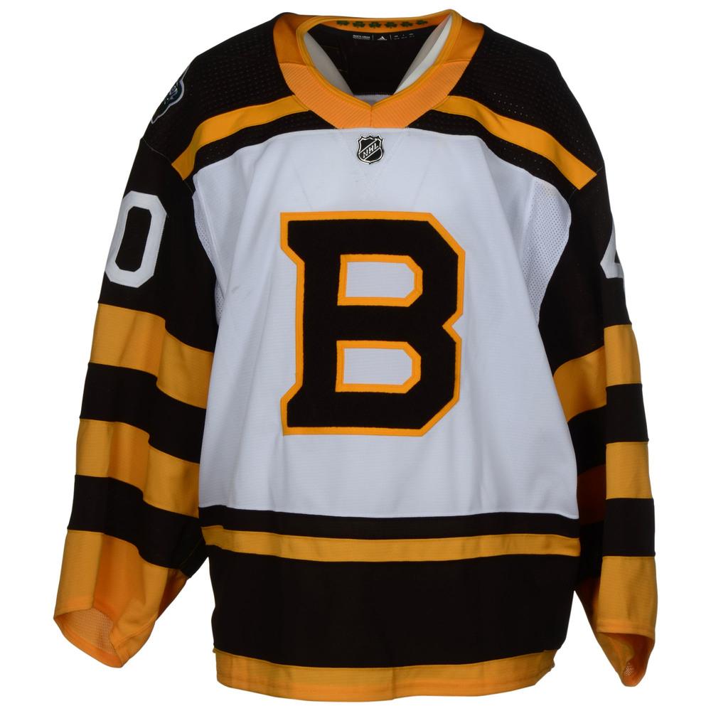 Tuukka Rask Boston Bruins Game-Worn 2019 NHL Winter Classic Jersey ... 3cbee27bf