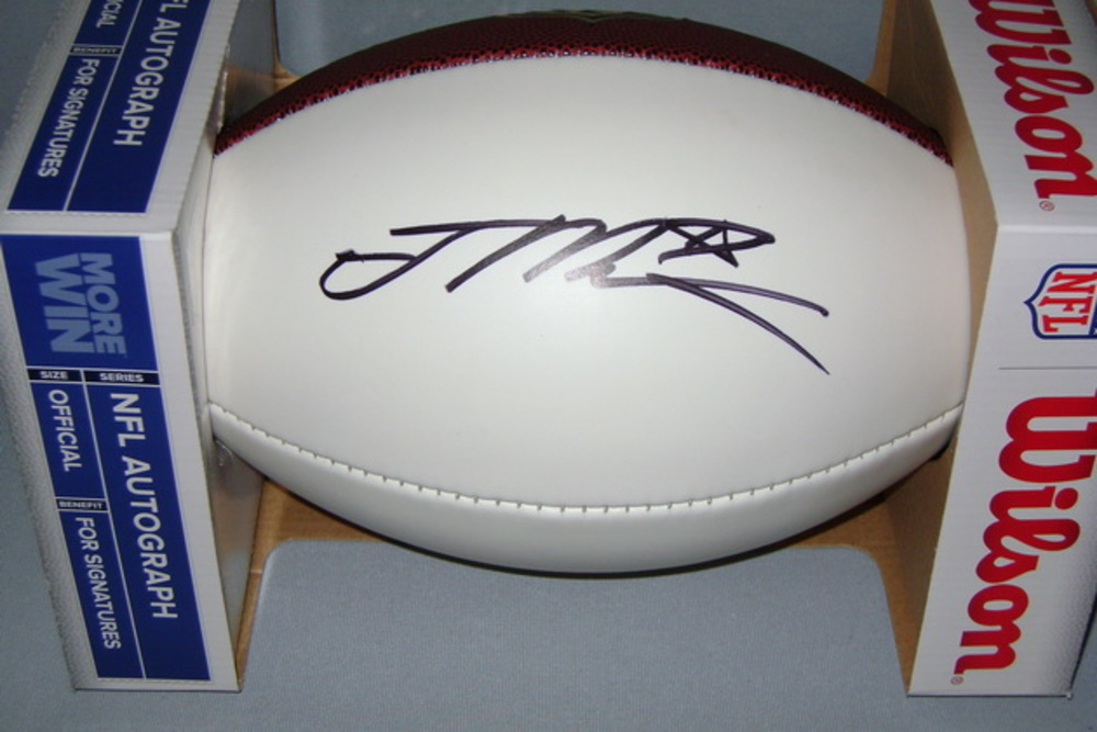 NFL - BENGALS JOE MIXON SIGNED PANEL BALL