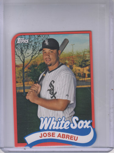 Photo of 2014 Topps '89 Topps Die Cut Minis #TMJA Jose Abreu UPD