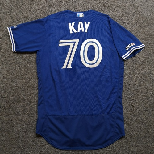 Photo of Authenticated Team Issued 2019 Jersey - #70 Anthony Kay. Size 46.
