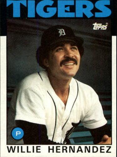 Photo of 1986 Topps #670 Willie Hernandez