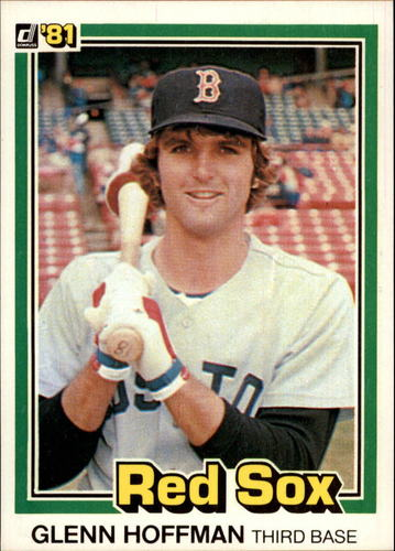 Photo of 1981 Donruss #95 Glenn Hoffman RC