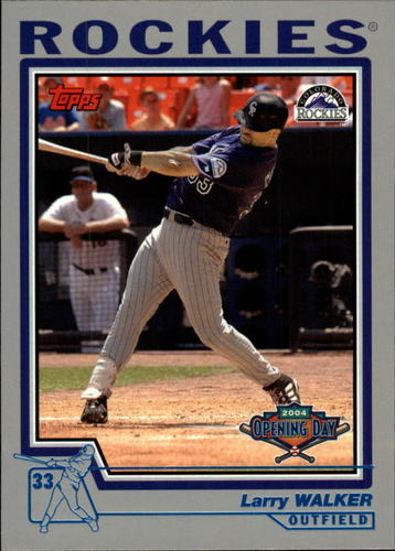 Photo of 2004 Topps Opening Day #130 Larry Walker