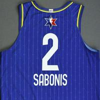 Domantas Sabonis - 2020 NBA All-Star - Game-Worn Jersey Charity Auction - Team LeBron - 1st and 2nd Quarter