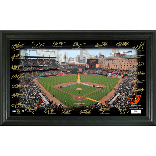 Photo of Baltimore Orioles  2020 Signature Field Limited Edition Frame