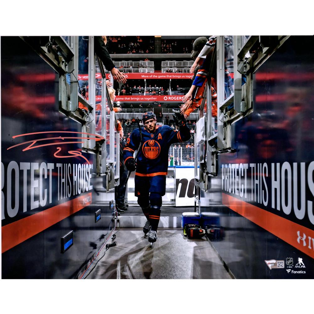 Leon Draisaitl Edmonton Oilers Autographed 11