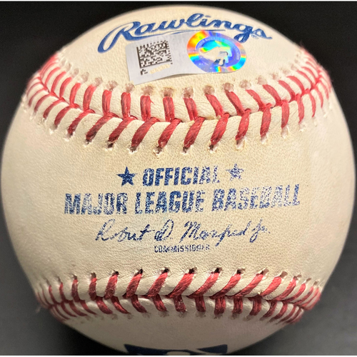 Photo of Game-Used Baseball: Jonathan Schoop Detroit Tigers Home Run (MLB AUTHENTICATED)
