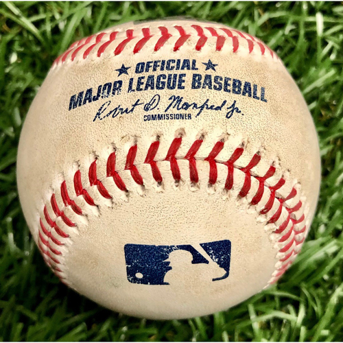 Photo of Rays Baseball Foundation: Game Used Home Run Baseball - Christian Arroyo - September 13, 2020 v BOS