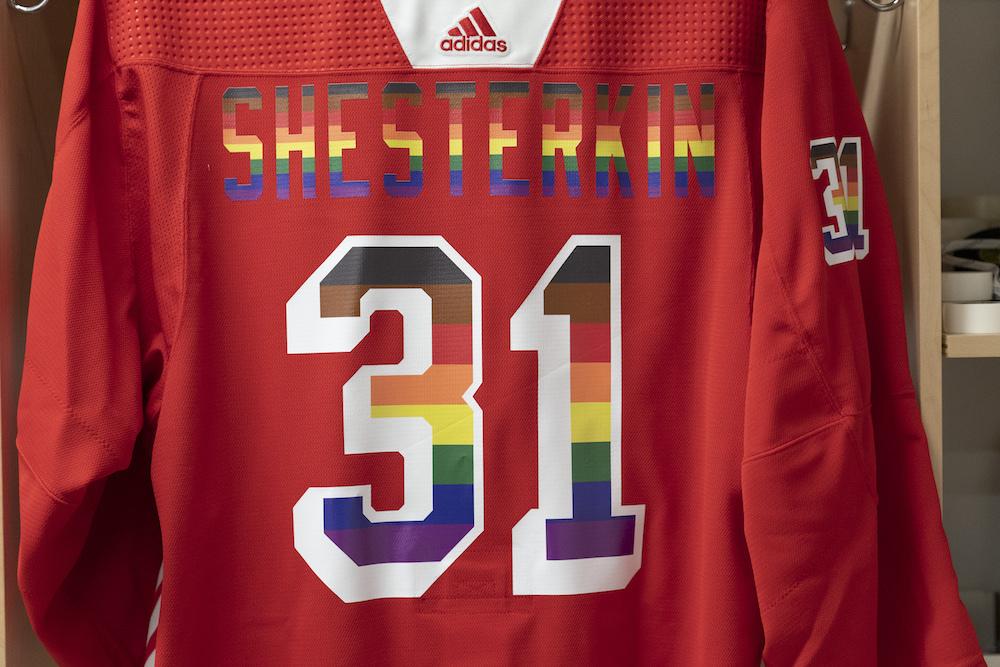 Autographed Pride Jersey: #31 Igor Shesterkin- New York Rangers