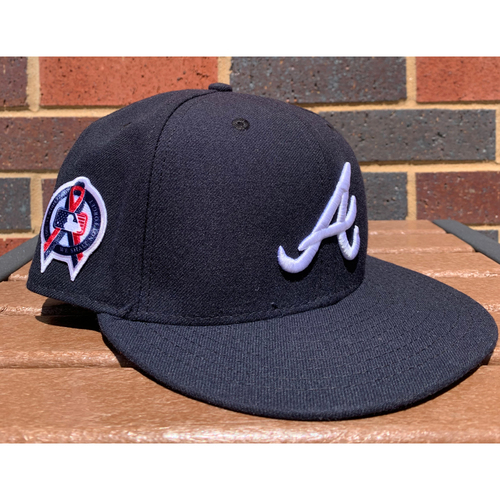 Photo of Eric Young MLB Authenticated and Game-Used 9/11 Style Hat